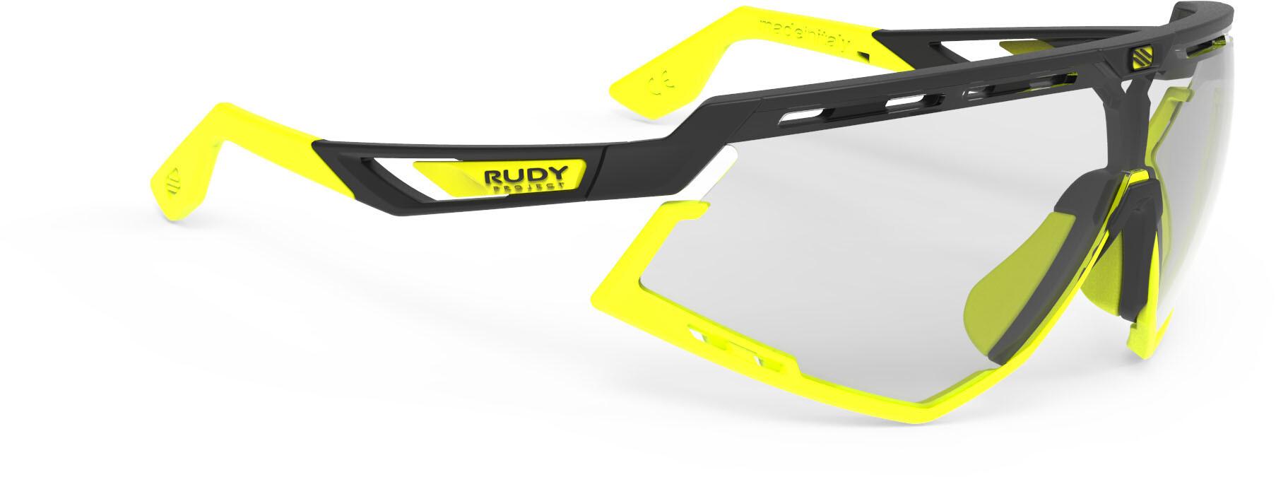 d434fd76824 Rudy Project Defender Lunettes, black matte/yellow fluo - impactx  photochromic 2 laser black